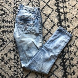 Barely worn rock revival jeans!